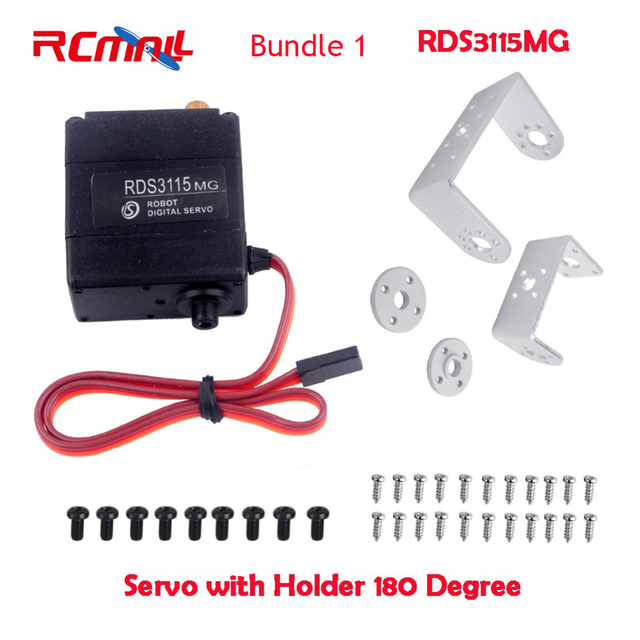 Rcmall Rds3115 Rds3135 Digital Robot Servo Rc 180 Or 270 Degree