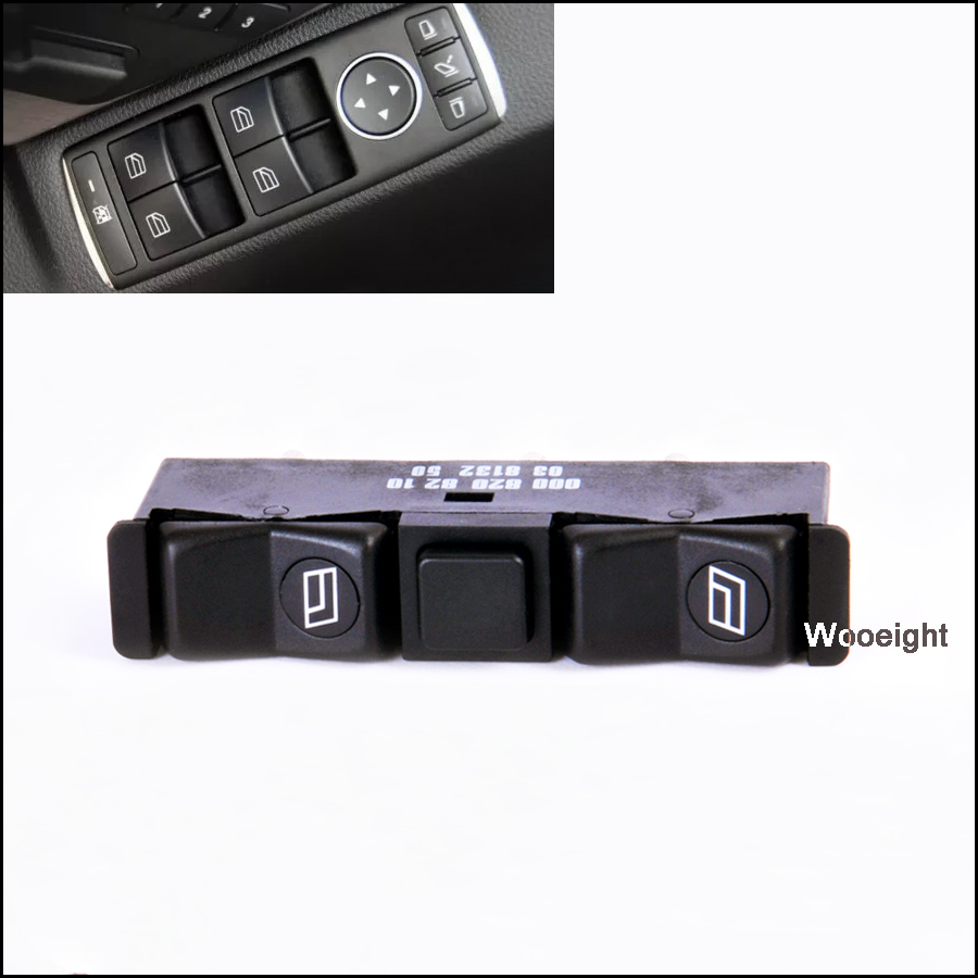 ELECTRIC WINDOW SWITCH FOR CENTER CONSOLE LEFT MERCEDES S-CLASS W126 C126