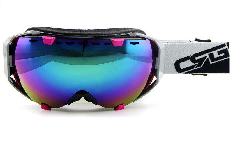 ski snowboard goggles  Aliexpress.com : Buy snowboard Fashion Purple pink Gradient womens ...