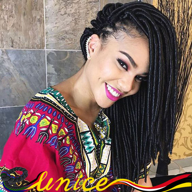 Queen Hair Products Dess Braids 20 Faux Locs Synthetic Soft Fauxlocks Crochet Extension