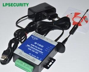 LPSECURITY GSM 3G 4G RTU SMS контроллер сигнализации промышленный IOT RTU система мониторинга встроенный watchdog S150