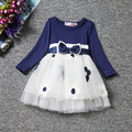 Inverno fantasia infantil meninas vestidos frock designs bebê recém-nascido do bebê girl dress flores baptizado vestidos de aniversário 1 ano