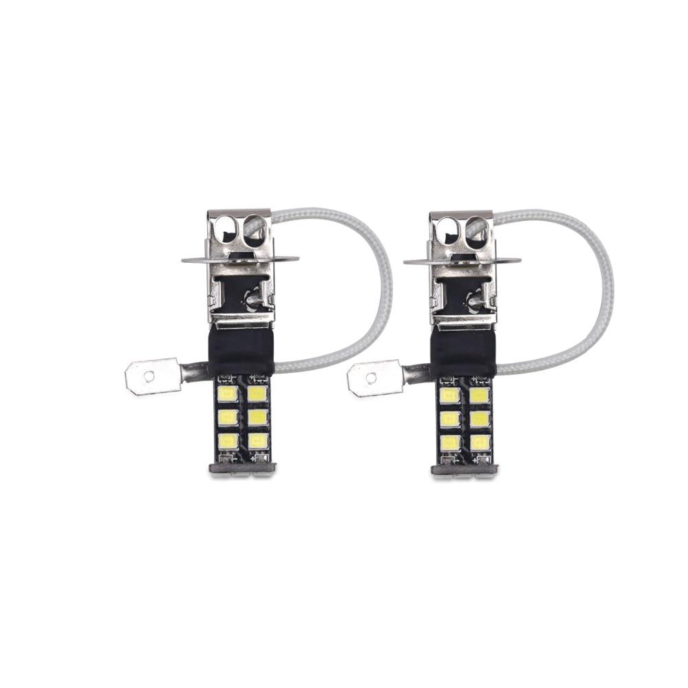 배 H3 Canbus는 빛 15SMD 2835 LED 차 LED 정면 빛 헤드 - 자동차 조명 - 사진 1