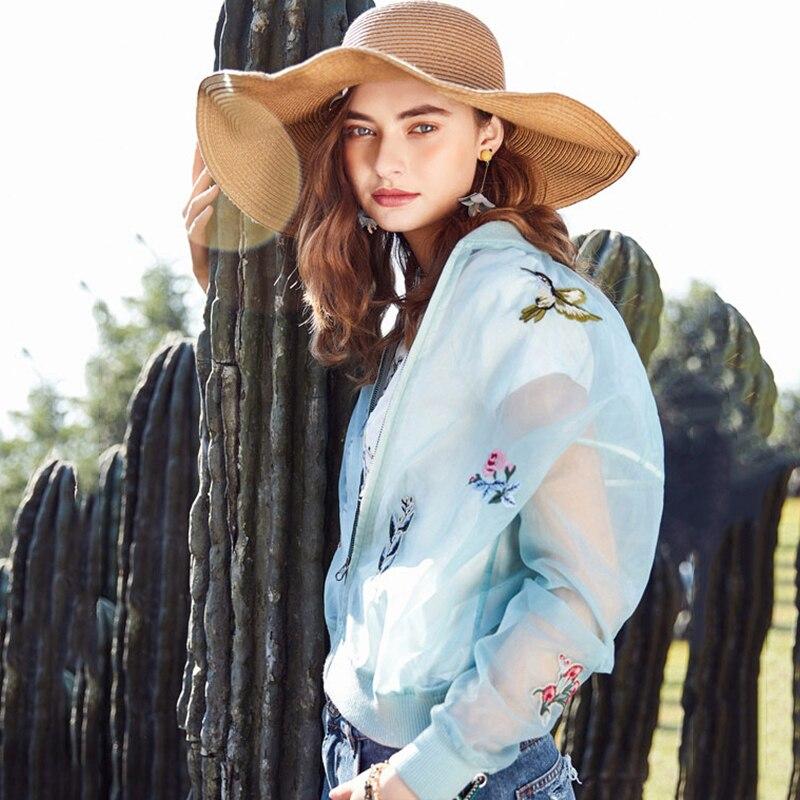 ARTKA 2019 été nouveau Chic brodé manteau goutte épaule Joker veste courte climatisation chemise pour femme WA10288C-in Vestes de base from Mode Femme et Accessoires on AliExpress - 11.11_Double 11_Singles' Day 1