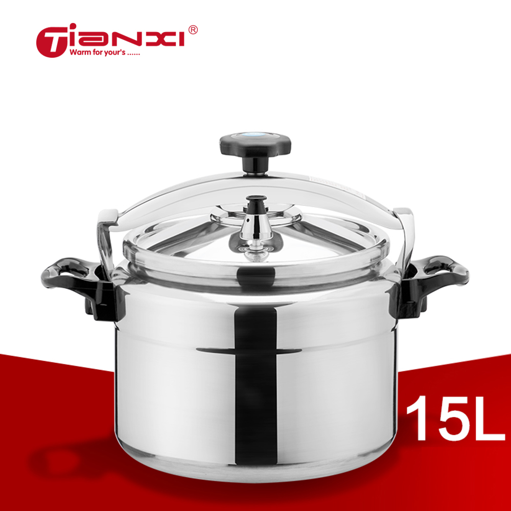 Steam Pressure Cooker: 15L Pressure Cookers Household Induction Cooker Gas Cooker