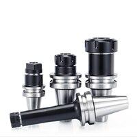 High precision BT30 BT40 ER16 ER20 ER25 ER32 CNC machine tool BT30 ER 20 keyless tool holder drill chuck cutting 1 G2.5 balance