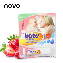 cute children fruit vaseline lip balm set weet  natural organic lipbalm lipstick by NOVO