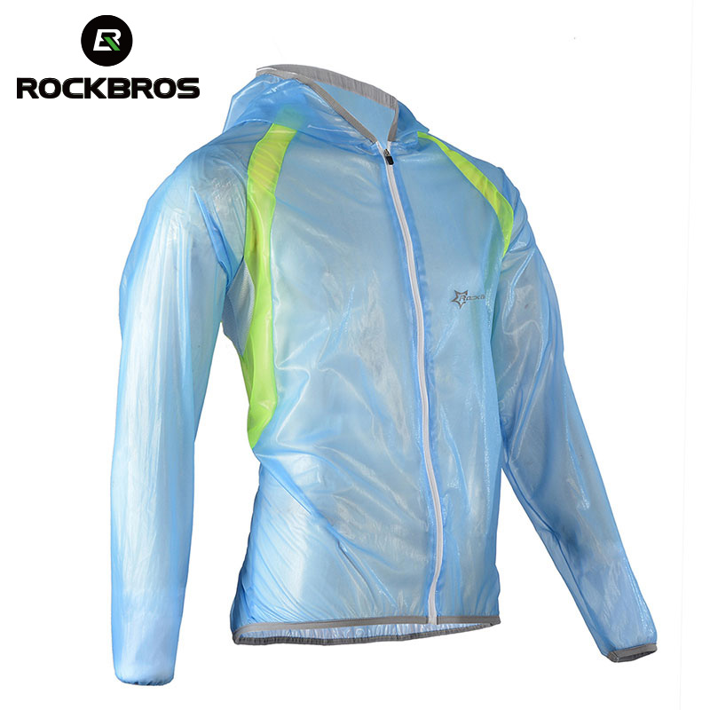 ROCKBROS MTB Cycling Jersey MultiFunction Jacket Rain Waterproof Windproof TPU Raincoat <font><b>Bike</b></font> Bicycle <font><b>Equipment</b></font> Clothes 3 Colors image