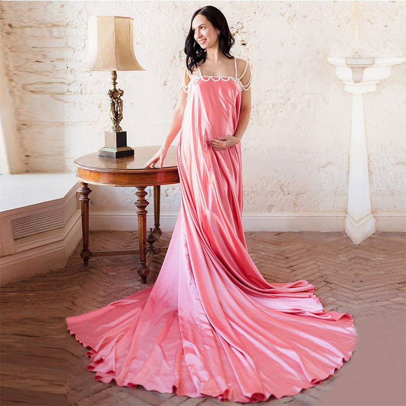 multi color sexy backless maternity prom dress plus size