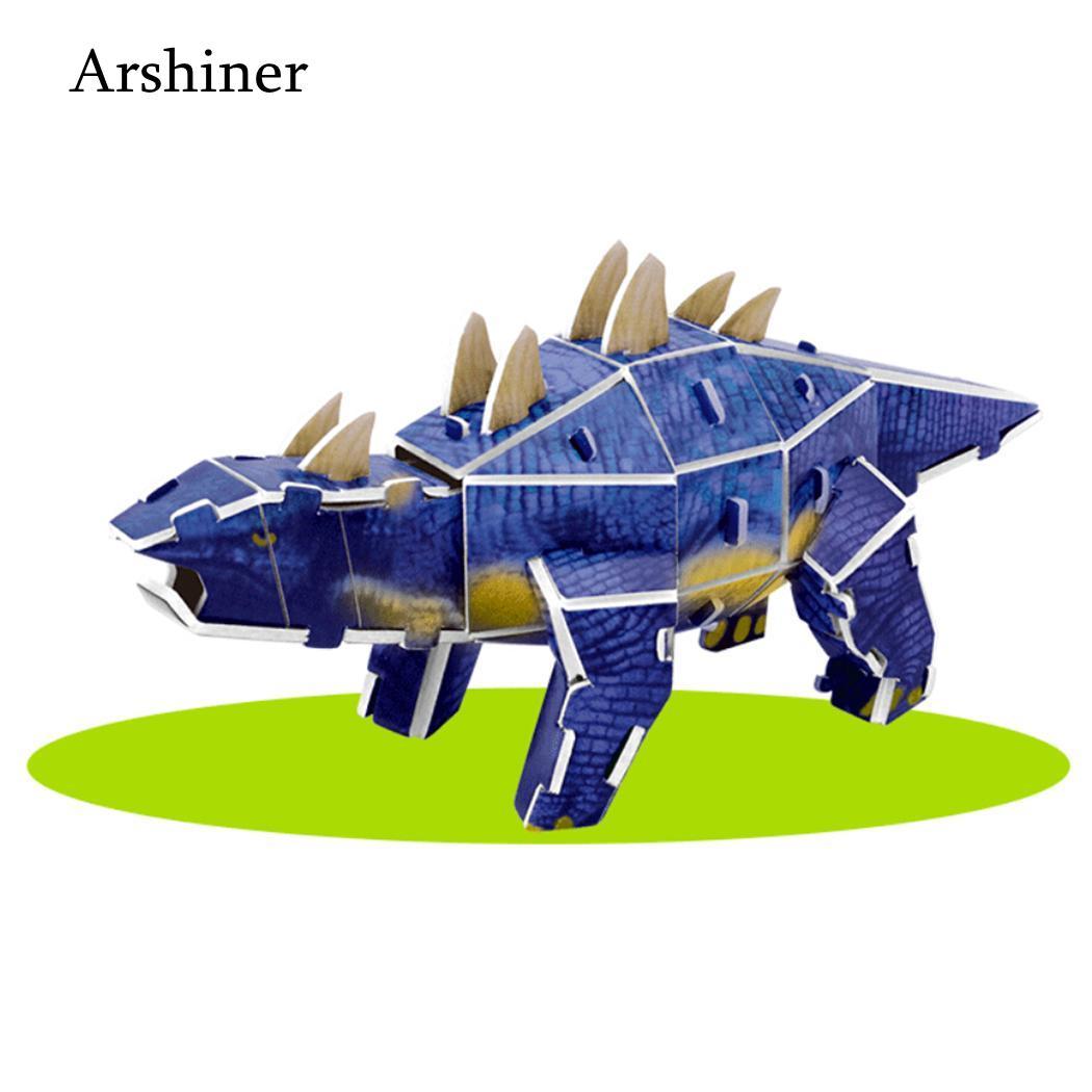 3D Model Educational years Children Assembly Dinosaur Unisex