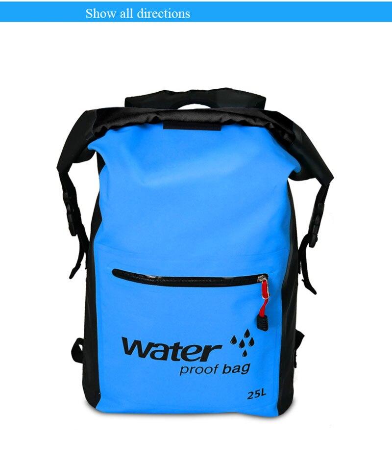 Waterproof Bucket Swimming Bag Camouflage Bag Pvc Clip Net Beach Drift. Outdoor Waterproof Package Waterproof Bag