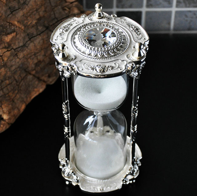 Creative Hourglass Count Down Timer Desk Clock Ampulheta Home Decor Study Living Room Decorations Sand LFB896
