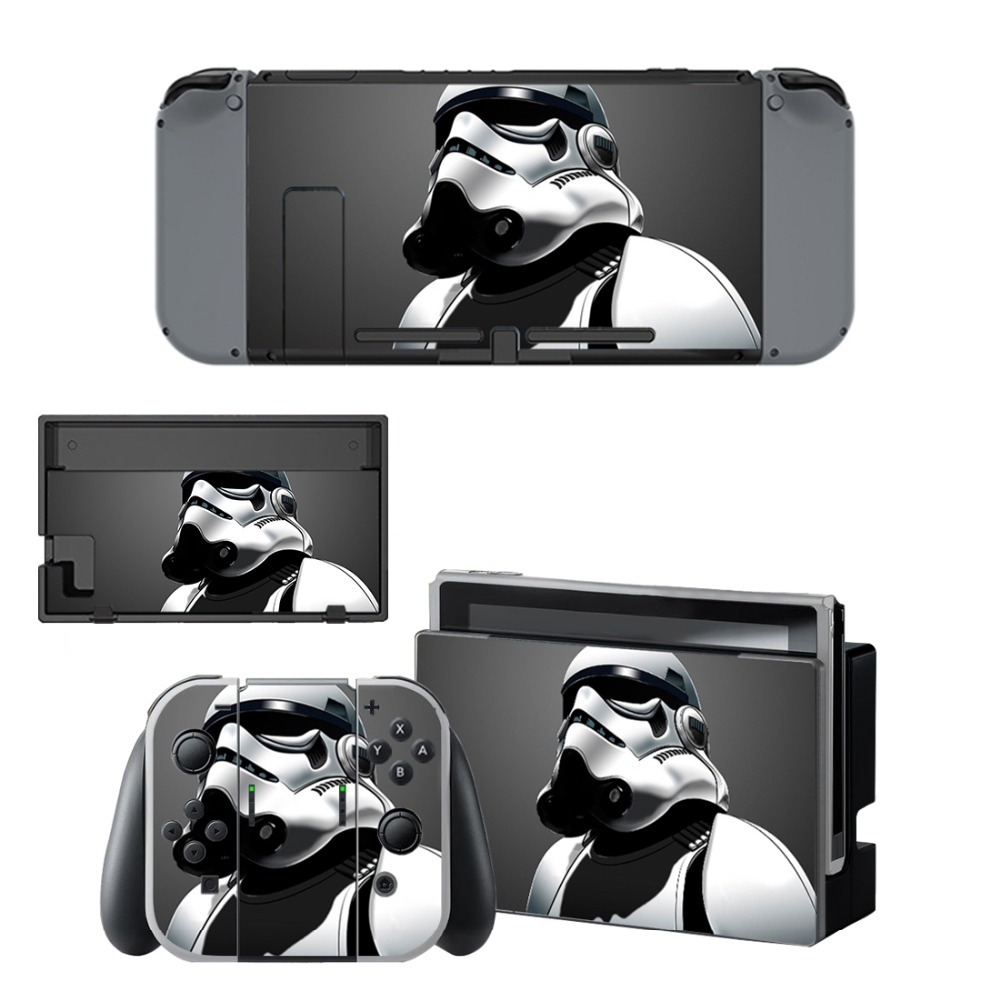 Star Wars Film Skin Sticker vinyl for NintendoSwitch Sticker Skin for Nintendo Nintend Switch NS Console and Joy-Con Controller image