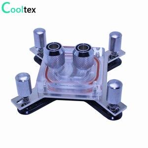 Image 1 - Bloc de refroidissement à eau pour ordinateur intel LGA 775/115x/1366/2011 X99 X79, bloc de refroidissement à eau dunité centrale