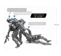 Tobyfancy 1/35 الحديث البحرية النخبة الامريكية المارينز نموذج الرقم تمثال الجندي العسكرية جيش الإنقاذ الرفاق BEE-16