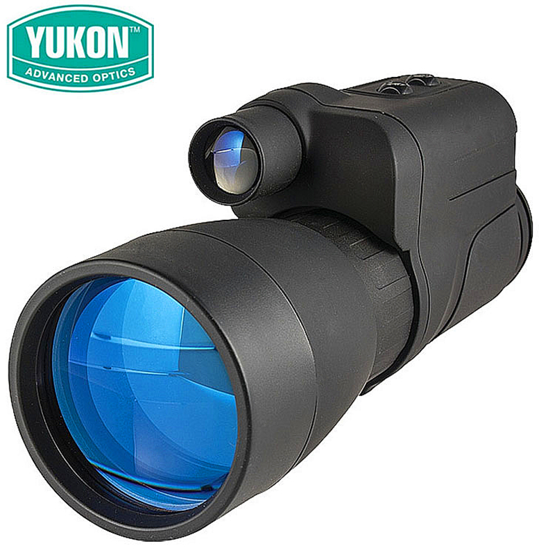 New Infrared Monocular NV YUKON Patrol 5X60 hunting googles vision night scope Advanced Optics  instrument Tactical equipment original yukon 24127 night vision scope nvmt spartan 4x50 night vision monocular for hunting night vision device 4 magnification