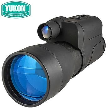 New Infrared Monocular NV YUKON Patrol 5X60 hunting googles vision night scope Advanced Optics  instrument Tactical equipment optical instrument