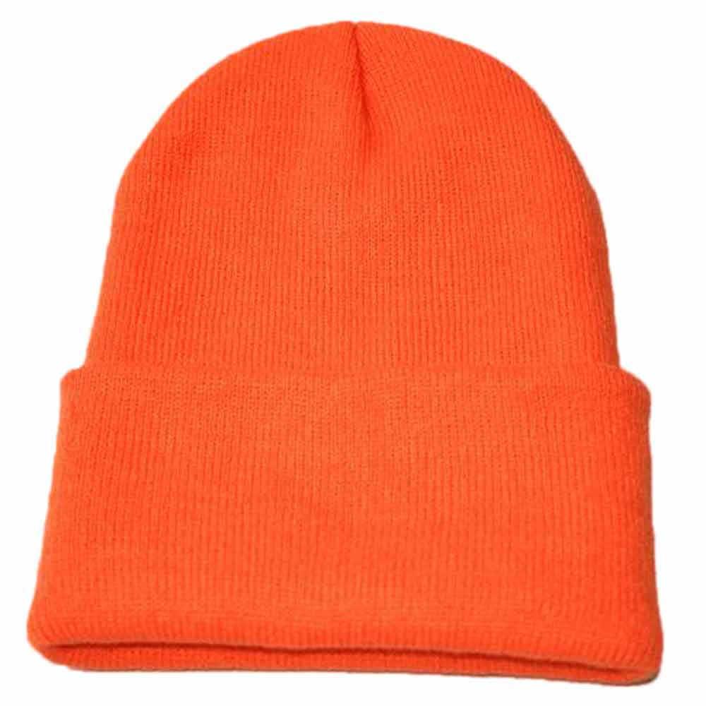 7d45cc31cb6 ... Hat Female Unisex Cotton Blends Solid Warm Soft HIP HOP Knitted Hats  For Men Winter Caps ...