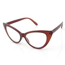 65b5deb44b Classic Modern Elegant Cat Eyes Shape Glasses Frame For Ladies Acetate  Optical Frames Retro Plastic Plain