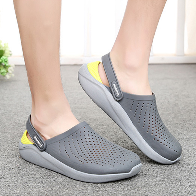 Lizeruee Summer Soft Slippers For Women EVA Clogs Mules Unisex Beach Slippers Casual Shoes Sports Mules Garden Clogs Wholesale 5