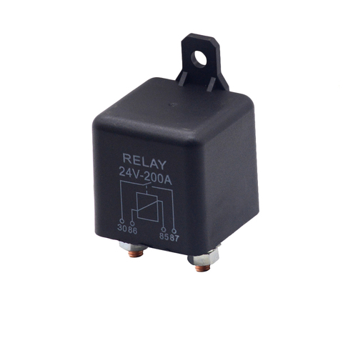 Car Truck Motor Automotive high current relay 12V/24V 200A 2.4W  Continuous type Automotive relay car relays Lahore