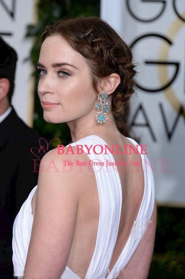 72nd globo de oro Emily Blunt vestidos atractivos de la celebridad ...