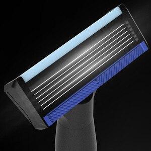 Image 5 - Youpin hommes rasoir magnétique remplacer les lames pour Mi Mijia hommes rasoirs pour rasoir seulement