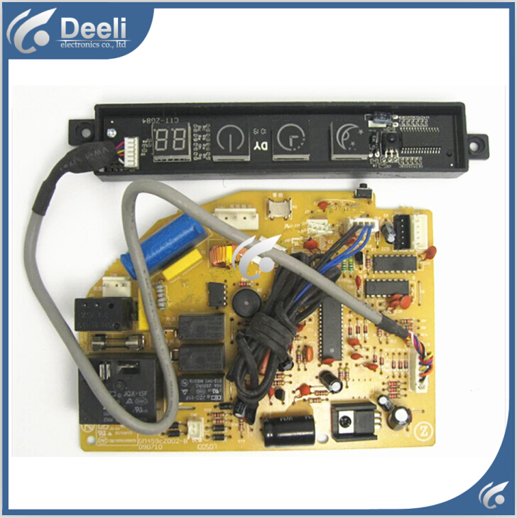 ФОТО 95% new good working for Chigo air conditioning computer board GM162CZ005-E motherboard ZGAE-84-3E display board 2pcs/set