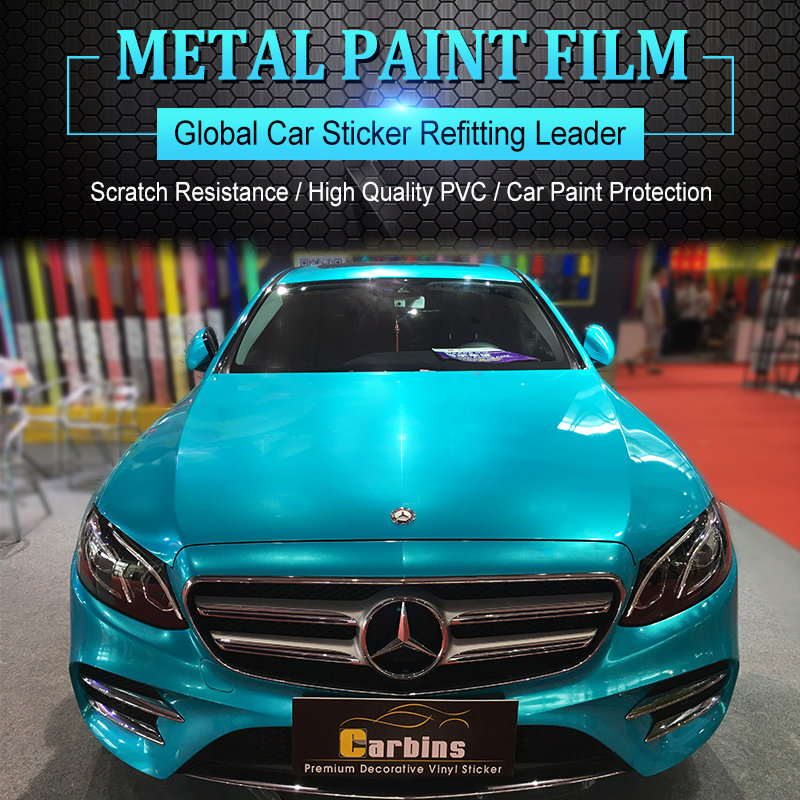 Carbins Vehicle Wraps Film Metal Paint Turquoise Color Buy At The Price Of 382 50 In Aliexpress Com Imall Com