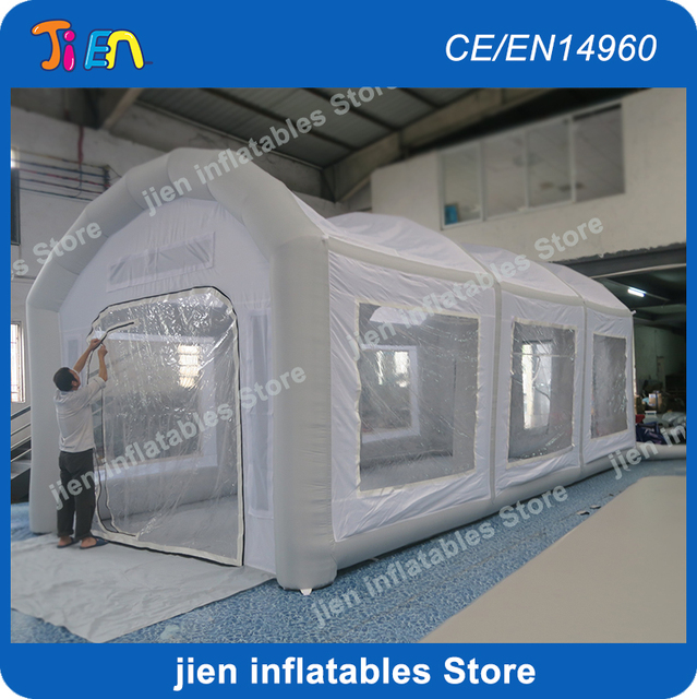 Portable Paint Booth >> 8m 4m 3 5mh Portable Inflatable Paint Booths Professional Spray