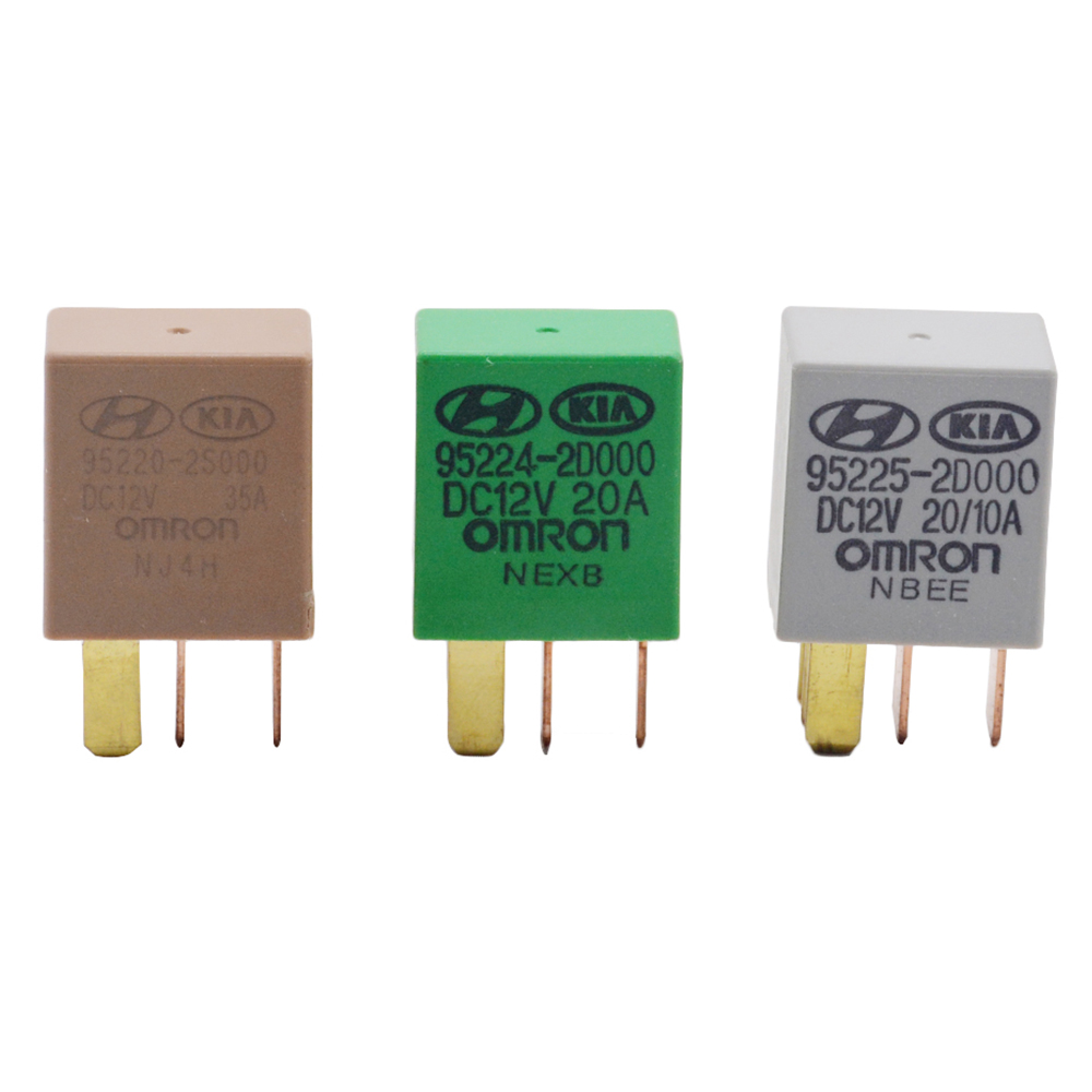 NEW Genuine Power Relay 39160-3X100 DECO 12V 30A 5-pin OEM For KIA 391603X100