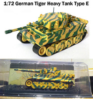 Special Offer 1:72 German Tiger Heavy Tank Type E Die casting model Alloy Collection Model
