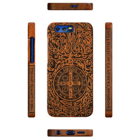 Oneplus 5 Case Hard Full Protective Wood Wooden Carved Back Cover OnePlus Cases For One Plus