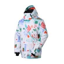 High quality Men's Snowboarding Jacket skiing Coat Skiwear Windbreaker outdoor Waterproof Windproof outwear