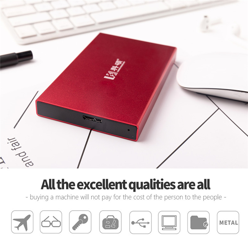 """USB3.0 HDD Desktop Laptop Mobile Hard Drive Disk External Hard Drive 80G 120GB 160GB 250GB 320GB 500GB 2.5"""" Mobile Portable UDMA"""