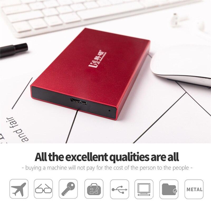 USB3.0 HDD Desktop Laptop Mobile Hard Drive Disk External Hard Drive 80G 120GB 160GB 250GB 320GB 500GB 2.5
