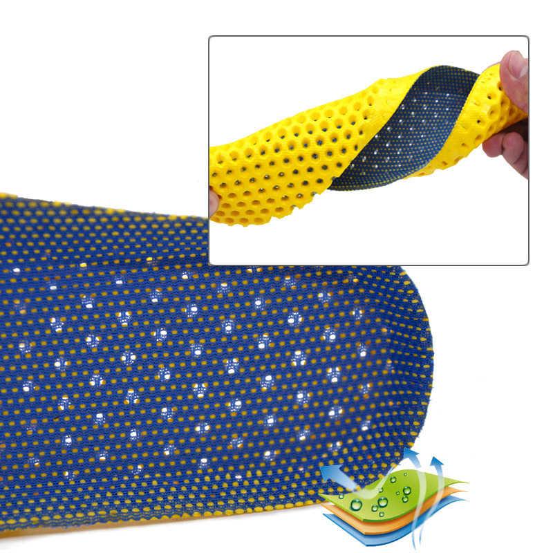 Streç Nefes Deodorant Koşu Yastık Tabanlık Ayak Erkek Kadın ayakkabı tabanlığı Taban Ortopedik Ped Bellek Köpük