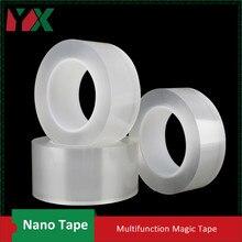 YX многофункциональные двухсторонние клейкие нано-ленты бесследные съемные Многоразовые моющиеся ленты домашние наружные гелевые фиксирующие наклейки