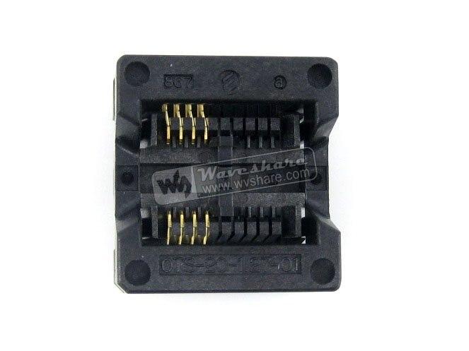 SOP8 SOIC8 OTS-8(20)-1.27-01 Enplas IC Test Burn-In Socket Programming Adapter 5.4mm Width 1.27mm Pitch