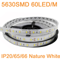 5M 12V 5630 LED Strip Light Neutral White Nature White 60LED/M IP20 Non-waterproof IP65 IP67 Waterproof Flexible LED Tape DC12V