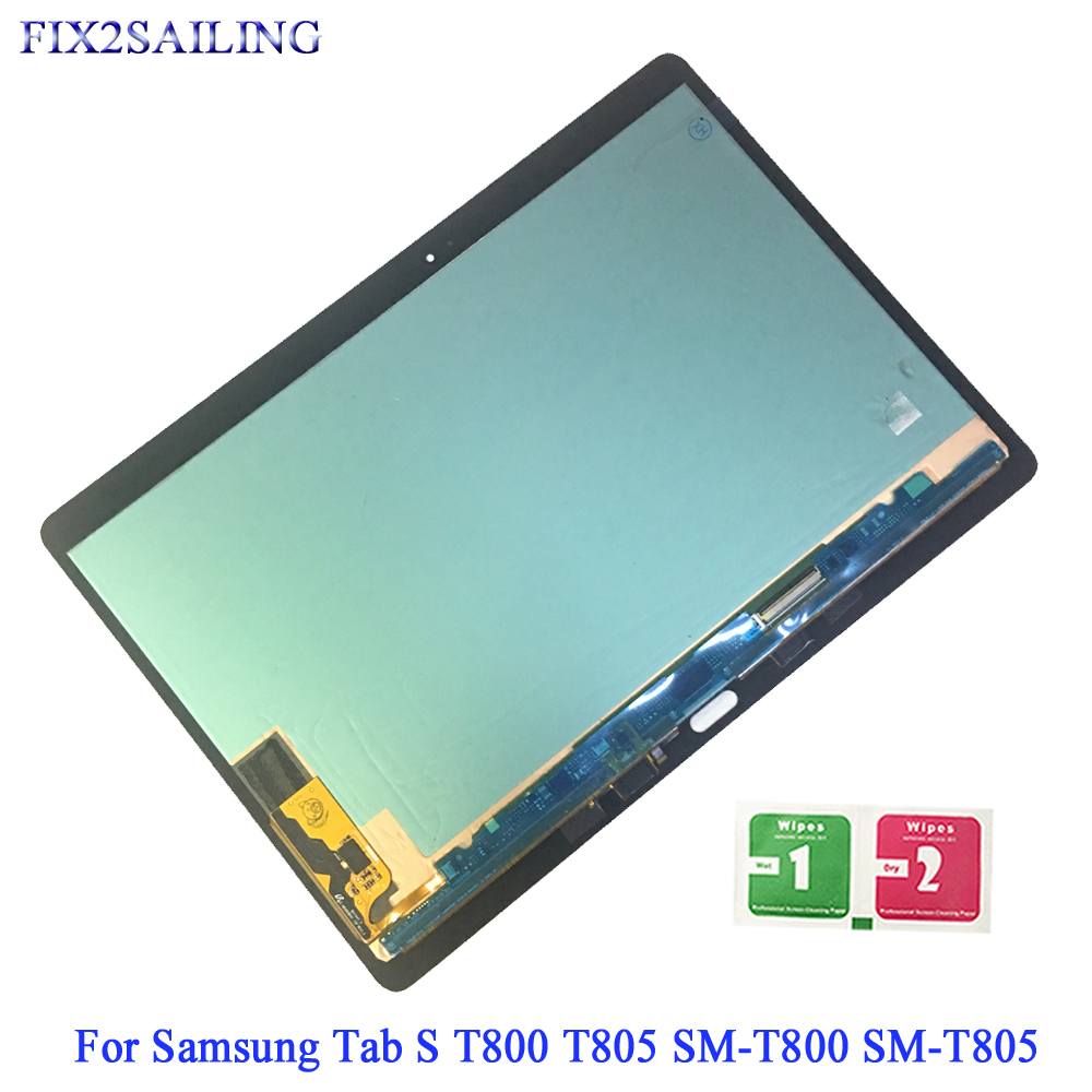 10.5 For Samsung Galaxy Tab S T800 T805 SM T800 SM T805 T807 LCD Display Touch Screen Digitizer Assemble For Samsung T800 T805