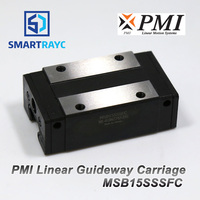 Smartrayc Taiwan PMI Linear Guideway Carriage Block MSB15S N for CO2 Laser Engraving Cutting Machine