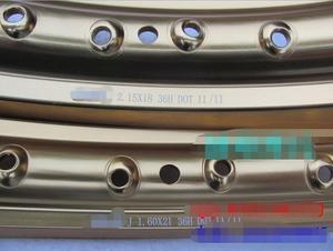 Image 3 - STARPAD, para 36H / Front 21x1,6, después de 18x2,15 vehículos todoterreno llanta de rueda de aleación de aluminio (2 unids/lote) para Zongshen GY