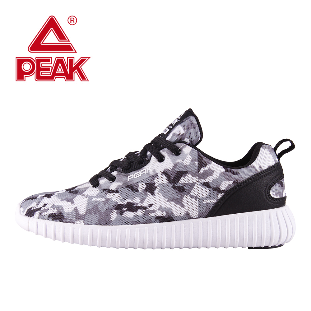 PEAK Men Running Shoes Spring Summer Outdoor Walking Shoes Breathable Upper Mesh Men Sneakers Sport Shoes For Male Sneakers