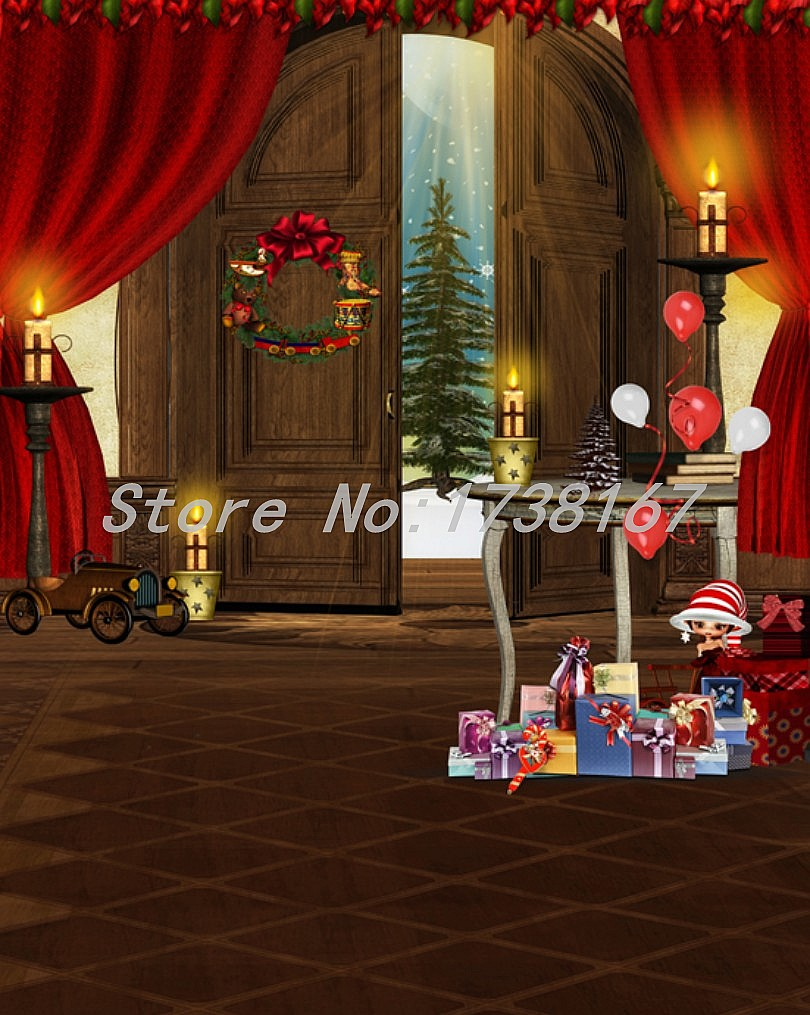 2015 New Newborn  Photography Background Christmas Vinyl  Backdrops 200cm *300cm Hot Sell Photo Studio Props Baby L838 2015 new 2mx3m warning sign on the beach digital backdrops muslin vinyl photography background