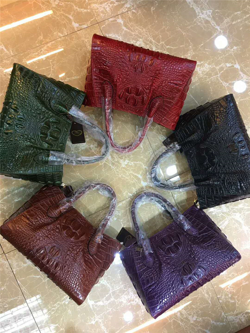 Crocodile pattern leather Women Bag Handbags Luxury quality Lady Shoulder Crossbody Bags lady Messenger Bag crocodile pattern cube shaped crossbody bag