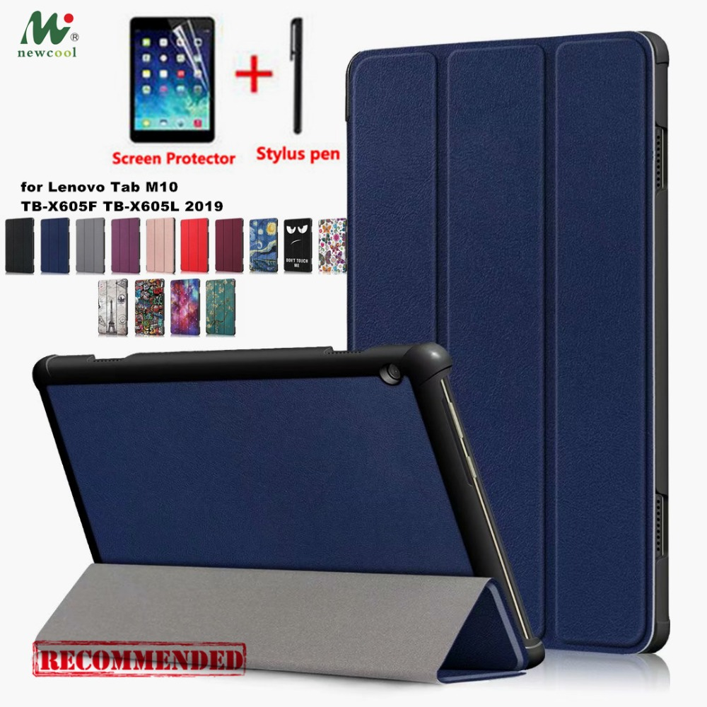 NEWCOOL PU Case Flip Cover for Lenovo Tab M10 TB-X605F TB-X605L 2019 stand cover for LENOVO M10 10.1 Tablet case NEWCOOL PU Case Flip Cover for Lenovo Tab M10 TB-X605F TB-X605L 2019 stand cover for LENOVO M10 10.1 Tablet case