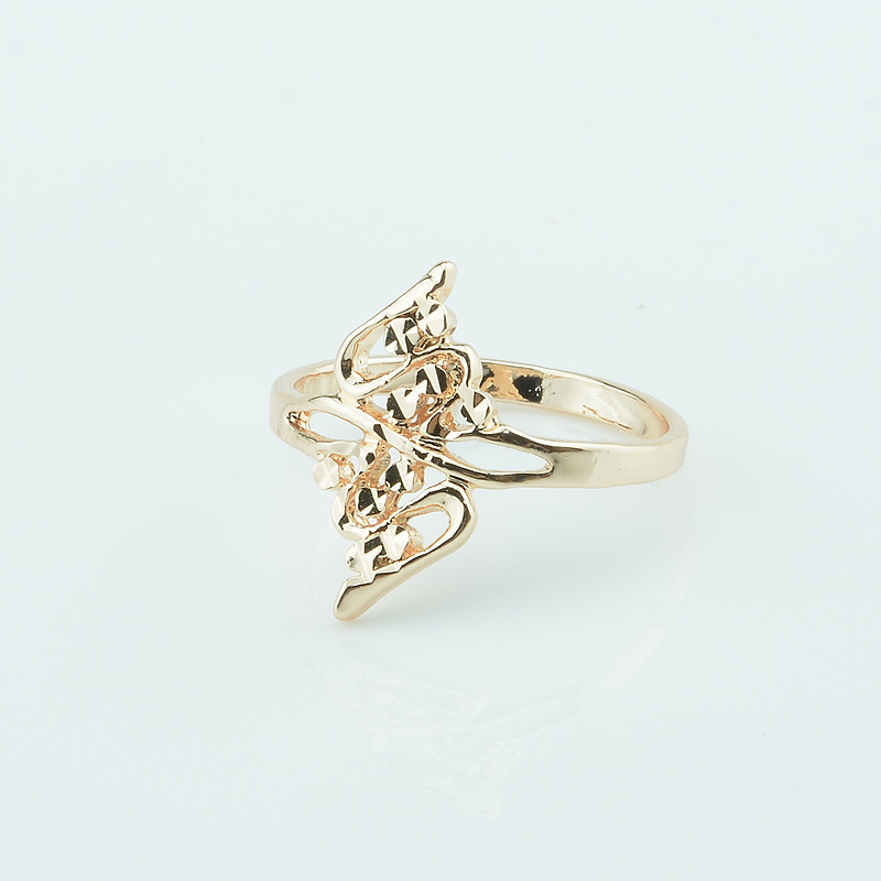 Buy gold rings without stones and free shipping on AliExpress