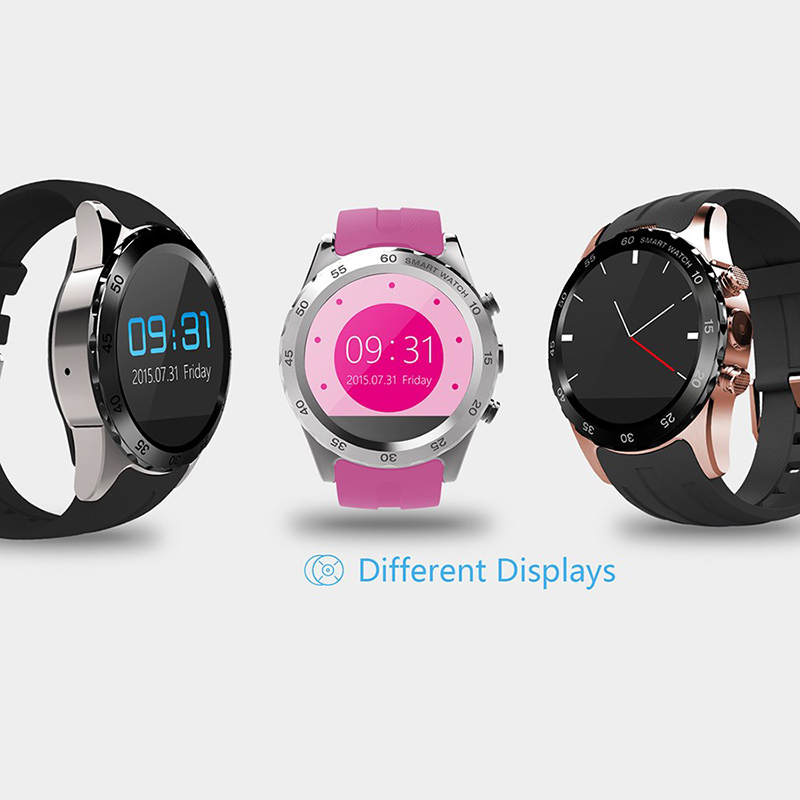 ФОТО Original KW08 Bluetooth Smart Watch Heart Rate Tracker SIM Card NFC GPS Watch Phone Compatible Android IOS System VCS17 T0.3