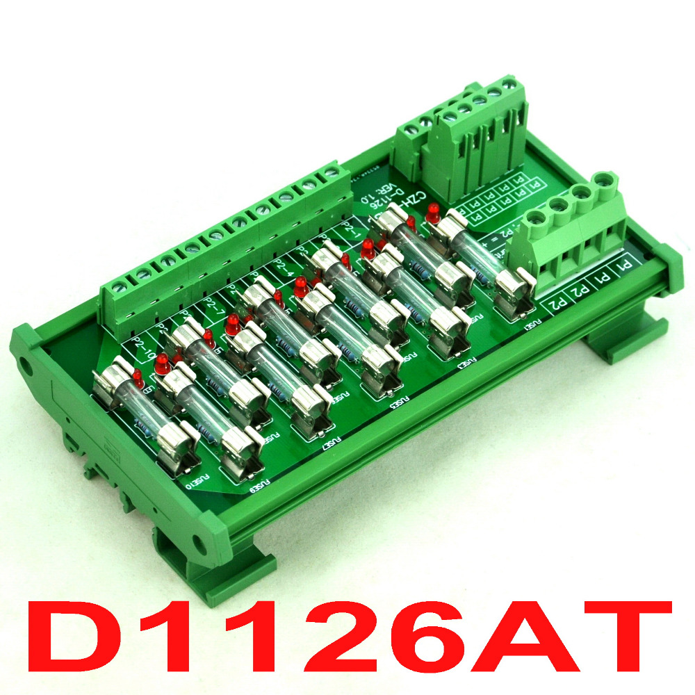Board, Fuse, Mount, Power, For, DIN